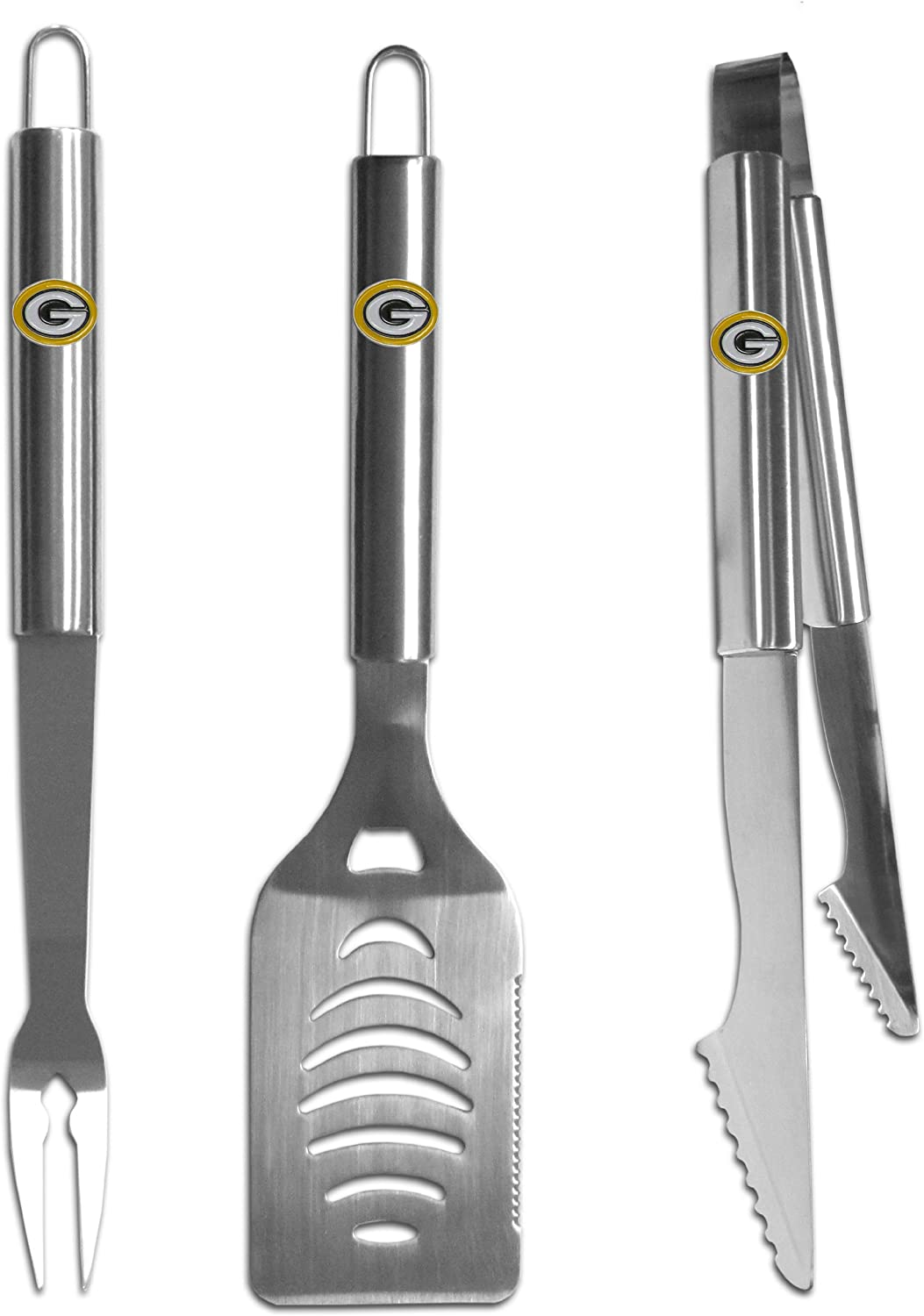 Siskiyou Gifts Co, Inc. NFL Stainless Steel BBQ Set