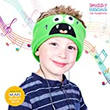 Snuggly Rascals Kids Headphones Over Ear Headband Earphones; Quiet, Volume Limited and Durable. Great for Travel, Use With iPad, iPhone, Samsung Tablet Computer. Suitable for Children (Monster)
