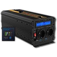 EDECOA inversor 3000w transformador de corriente 12v 220v