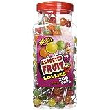 POSH Assorted Fruit Lollies 200 pops per jar