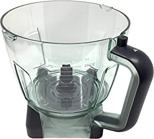 Ninja 64oz (8 Cup) Food Processor Bowl for BL770 BL770A BL770W BL771 BL771A BL771C BL772 BL772Q BL780 BL780CO Mega Kitchen System Blender