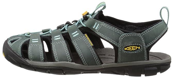2ec5866f23e4 KEEN Women s Clearwater CNX Leather Sandal  Amazon.ca  Shoes   Handbags