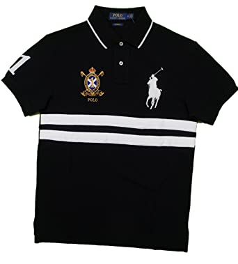 Polo Ralph Lauren logo embroidered polo shirt - Black In China Vzip6dNg
