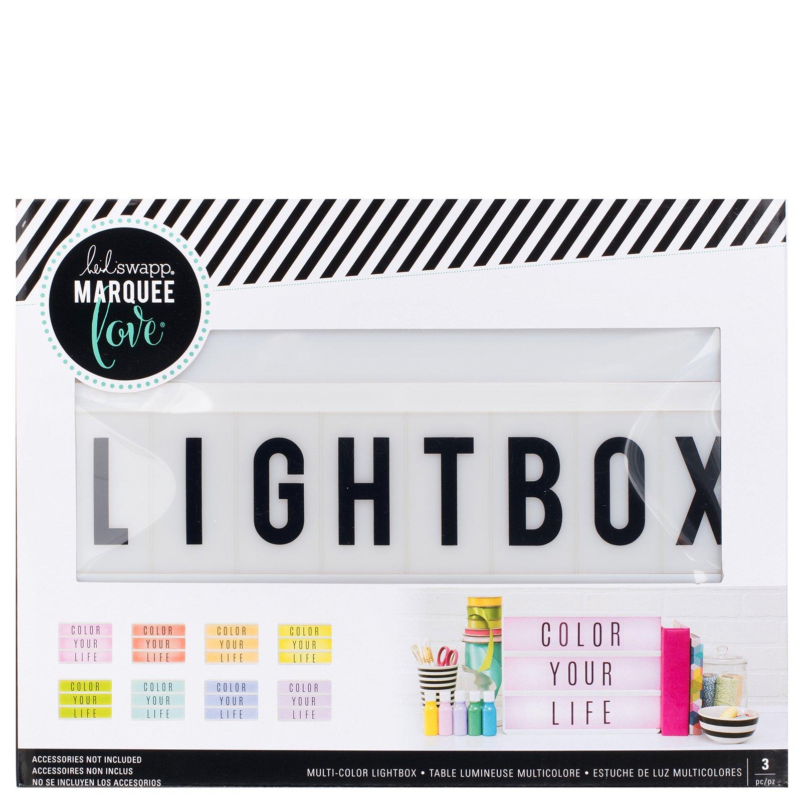 Heidi Swapp Multi-Colored Lightbox