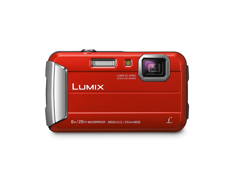 Panasonic DMC-TS30R LUMIX Active Lifestyle Tough Camera (Red)