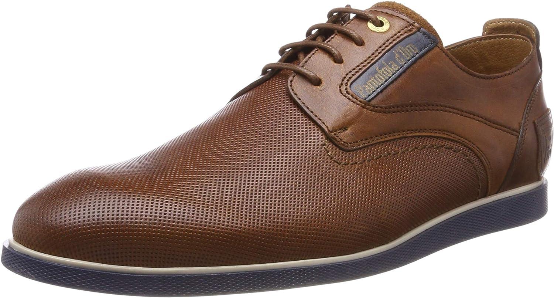 TALLA 40 EU. Pantofola d'Oro Urbino Uomo Low, Zapatos de Cordones Derby para Hombre