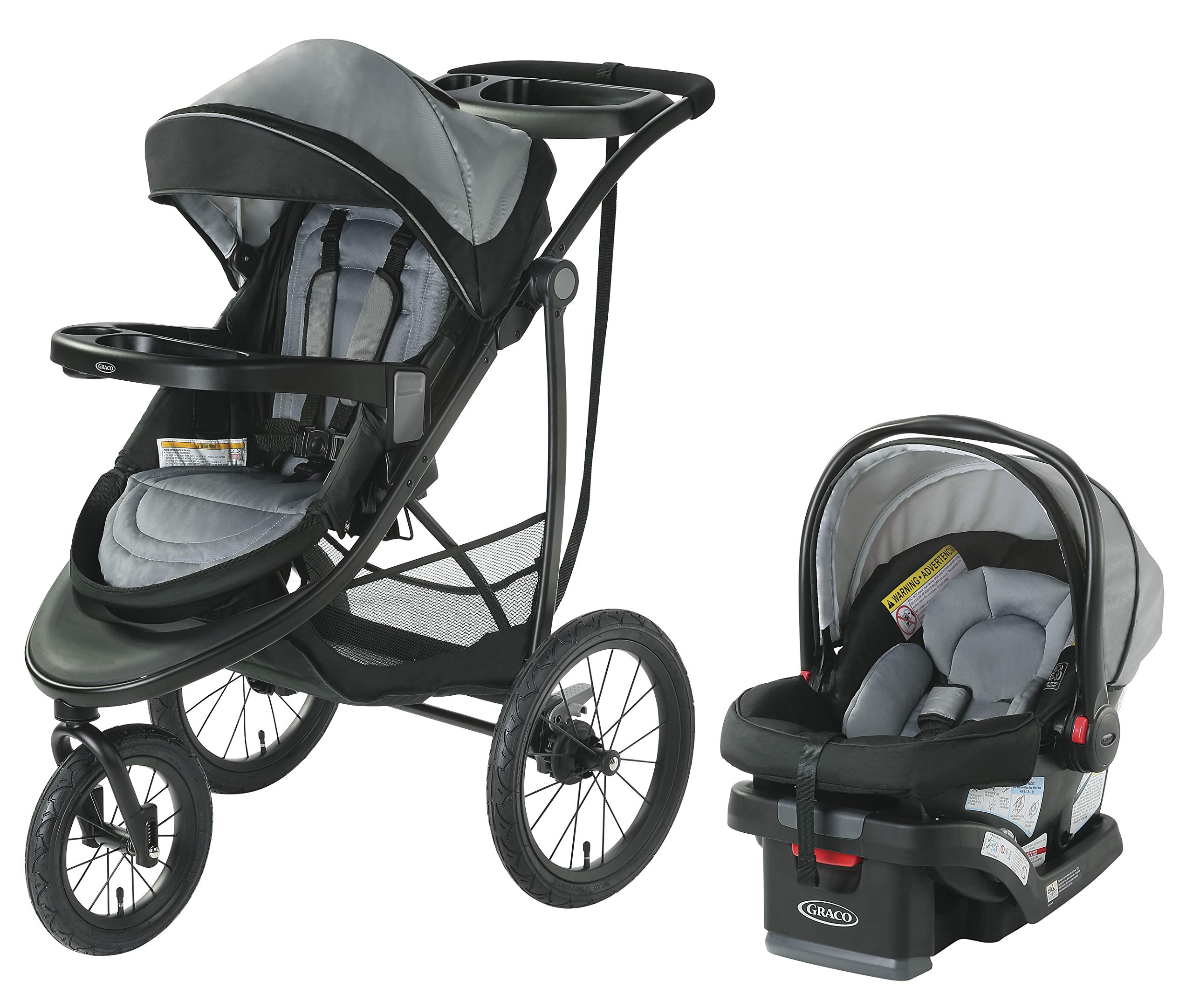 Graco Modes Jogger SE Travel System | Includes Modes Jogging Stroller and SnugRide SnugLock 30 Infant Car Seat, Codey by Graco
