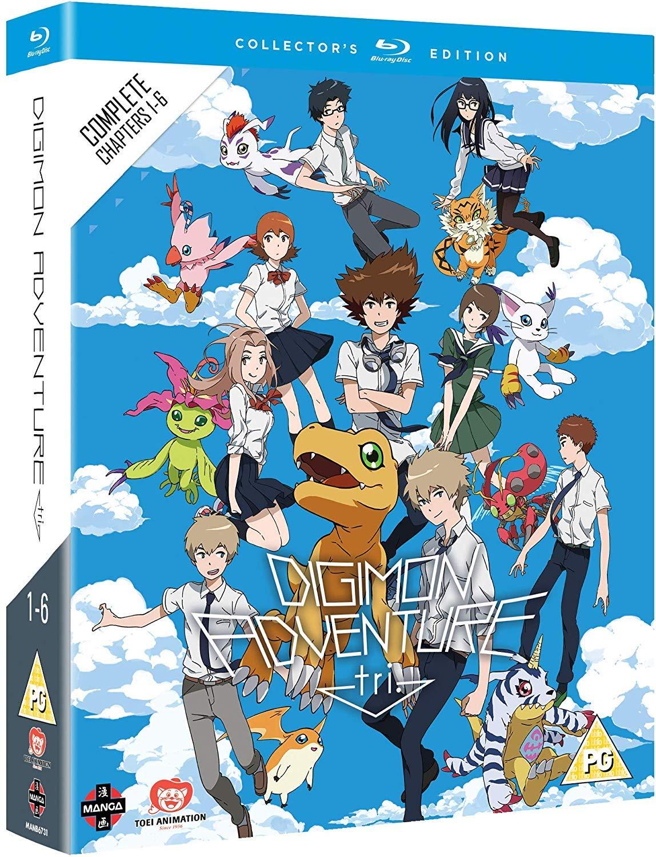 Digimon Adventure Tri: The Complete Movie Collection Blu-ray Reino Unido Blu-ray: Amazon.es: Joshue Seth, Cristina Valenzuela, Kate Higgins, Mona Marshall, Junko Takeuchi, Vic Mignona, Keitarô Motonaga, Joshue Seth, Cristina Valenzuela: Cine y