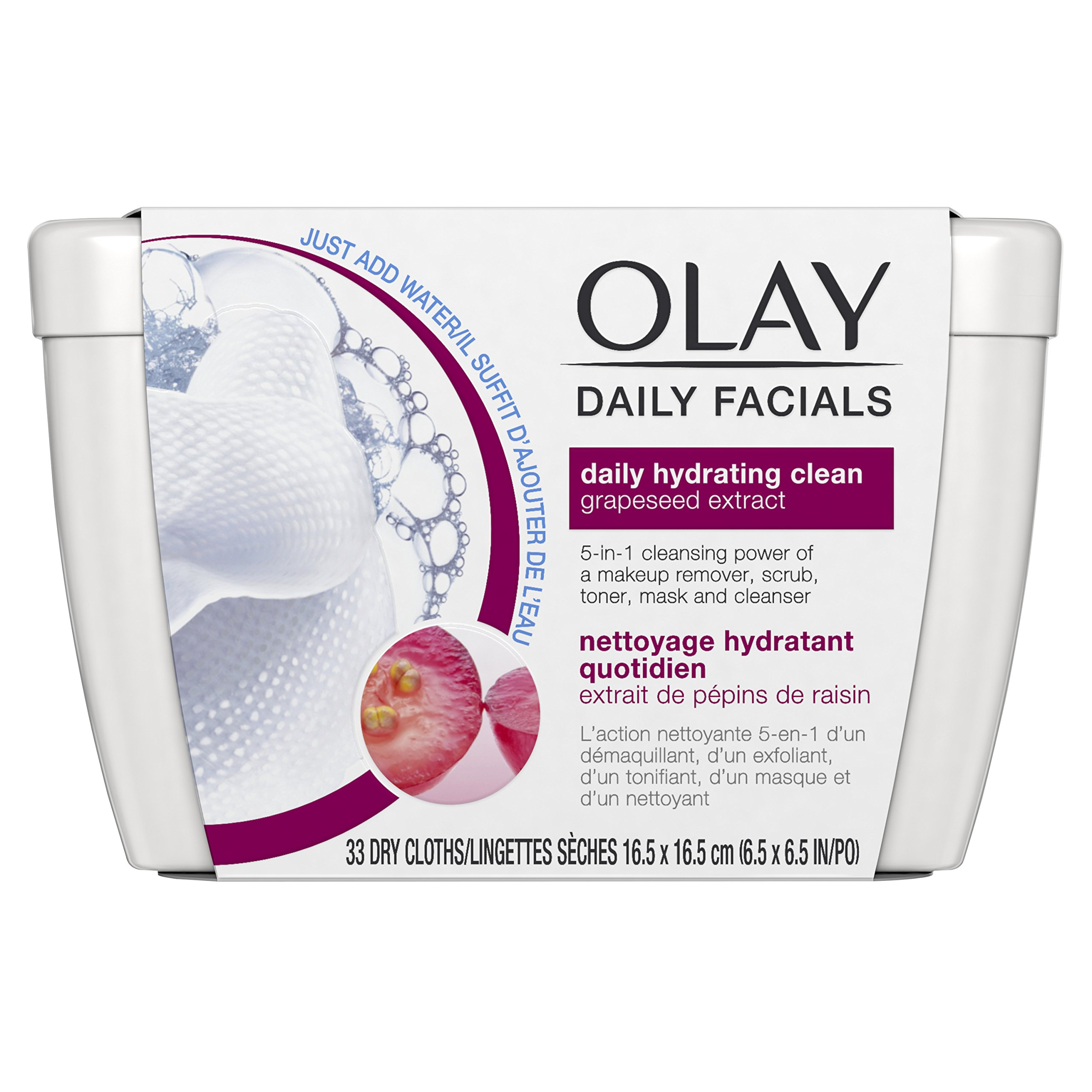Eye Makeup Remover Wipes By Olay Daily Facials Soap Free And
