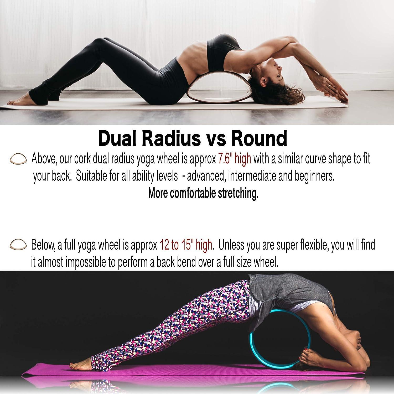 7 chakras corcho yoga rueda regalo Set - 4 en 1 - con ...