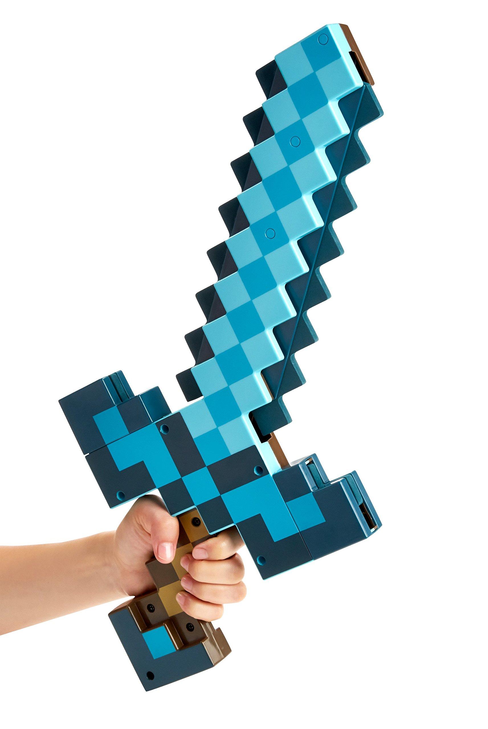 Mattel Minecraft Transforming Sword & Pickaxe Action Figure
