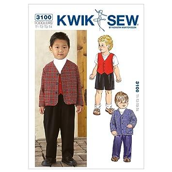 KWIK SEW Muster K3100 Größe T1, T2, T3, T4, Hosen, Hose, Jacke und ...