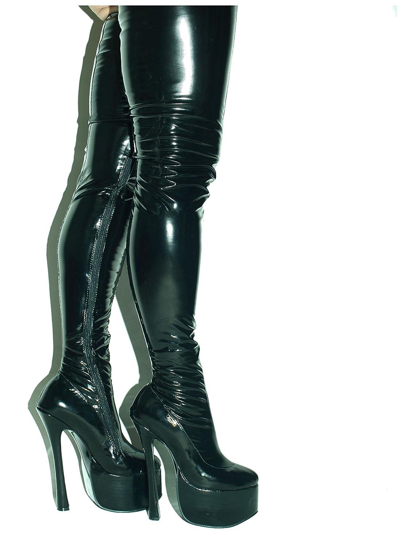 Lack pu Stiefel High Heel 20cm Platform Platform 20cm 8cm Bolingier Poland Größe 37-47 FS1372 - 352198