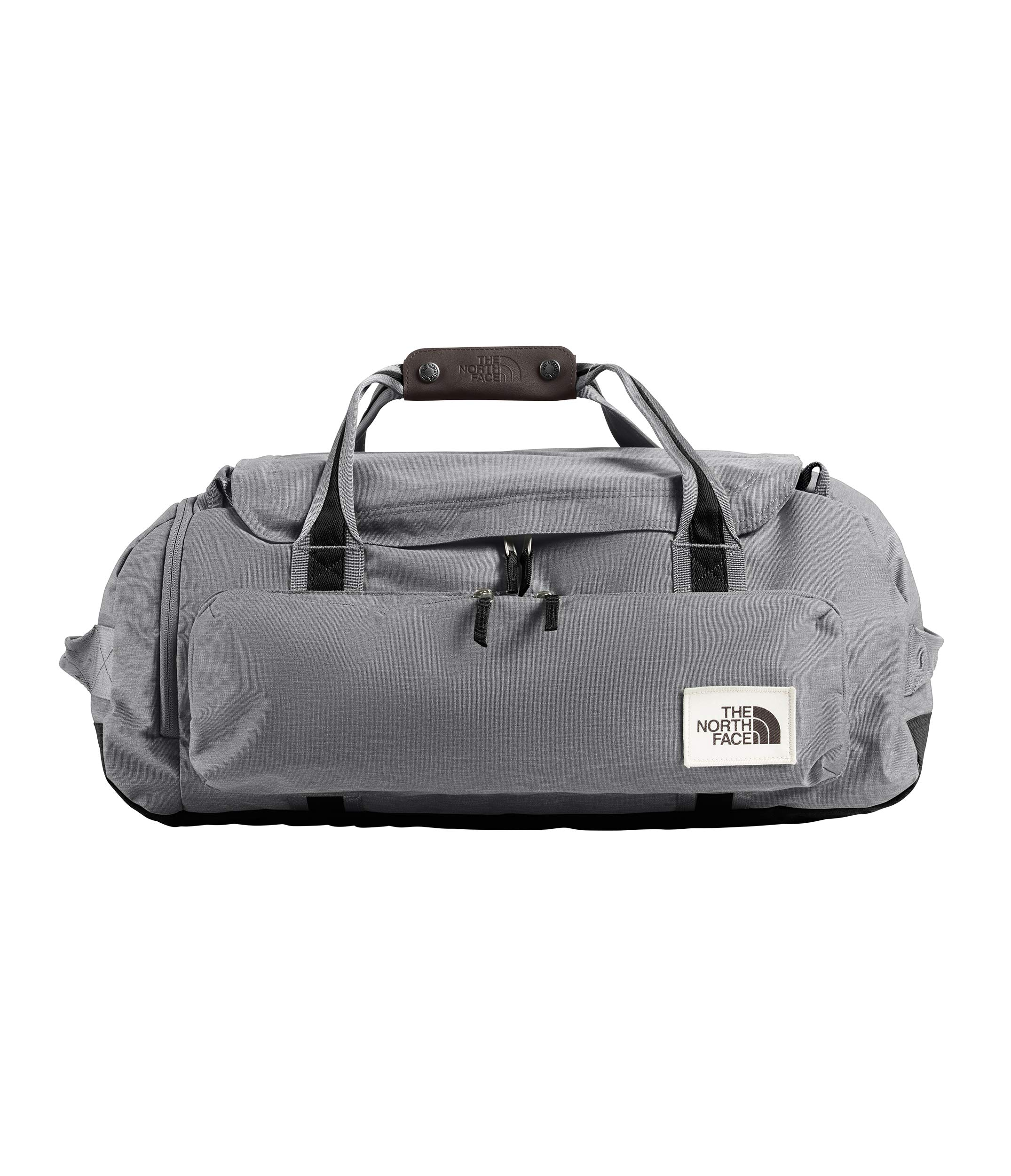 The North Face Berkeley Duffel-M, Mid Grey Light Heather/TNF Black Heather by The North Face