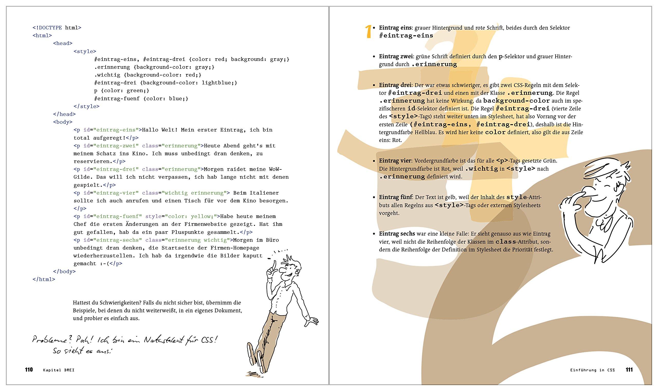 Schrödinger lernt HTML5, CSS3 und JavaScript: Das etwas andere Fachbuch  Galileo Computing: Amazon.de: Kai Günster: Bücher