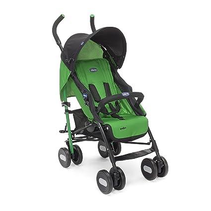 Chicco Echo - Silla de paseo, ligera y compacta, 7,6 kg, color verde