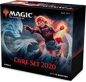 Magic: The Gathering Core Set 2020 (M20) Bundle   10 Booster Packs   Accessories   Factory Sealed