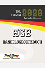 HGB - Handelsgesetzbuch: (Aktuelle Gesetze 2020) (German Edition) Kindle Edition