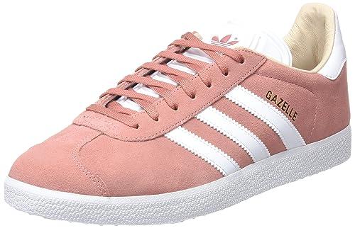 best website b017d b2250 adidas Damen Gazelle Fitnessschuhe Pink (RoscenFtwbla 000) 40 EU