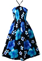 Pikulla Halter Smock Women's Bloom Chaba Gypsy Sundress Multicoloured One Size SML