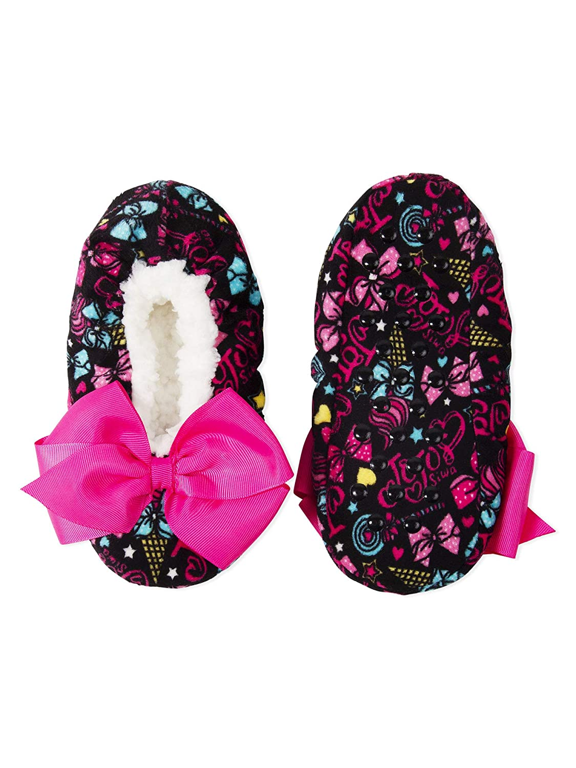 Nick Jr JoJo Siwa Girls Slipper Socks Sparkly Babba Slippers