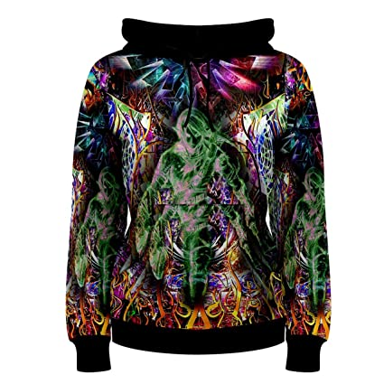 7bd7cfef5af Legend Of Zelda Triforce Trippy Psychedelic Hippie Custom Full 3D Print  Women Hoodie Sweaters (S