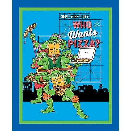 Amazon.com: Teenage Mutant Ninja Turtles Who Wants Pizza ...