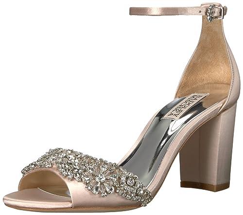 Badgley Mischka Womens Hines Heeled Sandal