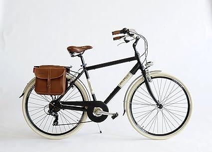 Bicicleta 605A de hombre Made in Italy Via Veneto: Amazon.es ...