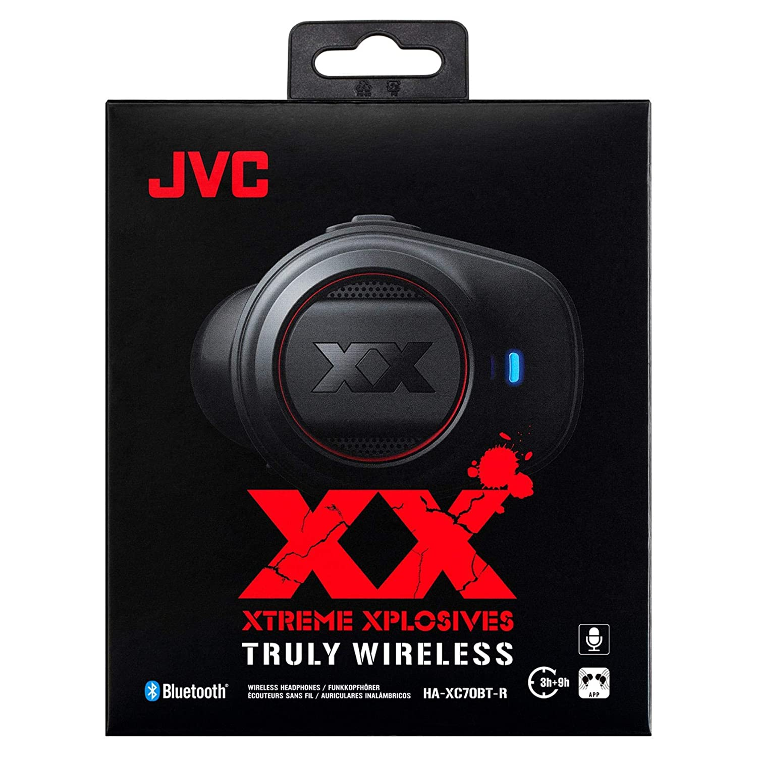 Amazon.com: JVC Bluetooth Wireless Stereo Earphone HA-XC70BT-R (RED)【Japan Domestic Genuine Products】【Ships from Japan】: Home Audio & Theater