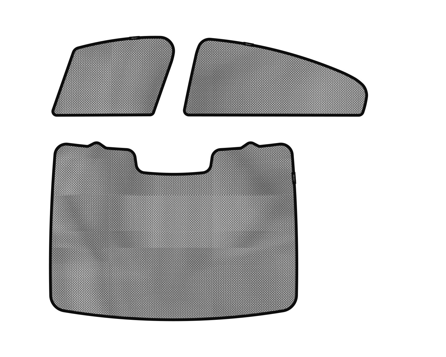3D MAXpider S1VV0160 Soltect Complete Set Custom Fit Sun Shade (for Select Volvo S60 Models)