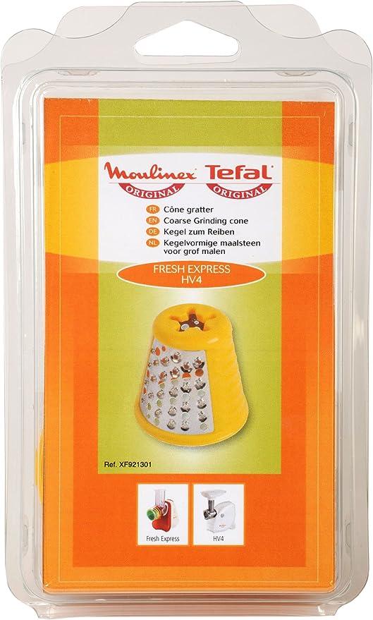 Moulinex XF921301 - Accesorios para procesadores de alimentos y robots de cocina, color naranja: Amazon.es: Hogar
