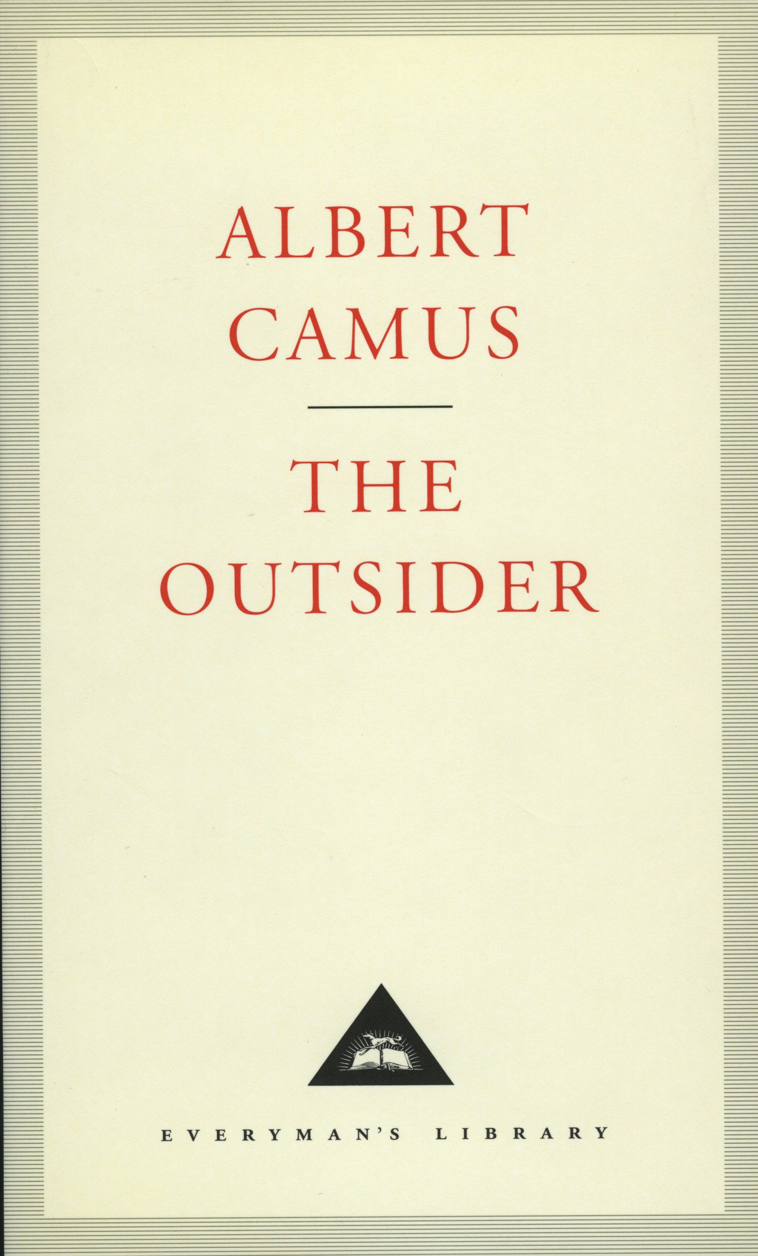 outsider everyman s library classics albert camus joseph outsider everyman s library classics albert camus joseph laredo 9781857151398 com books