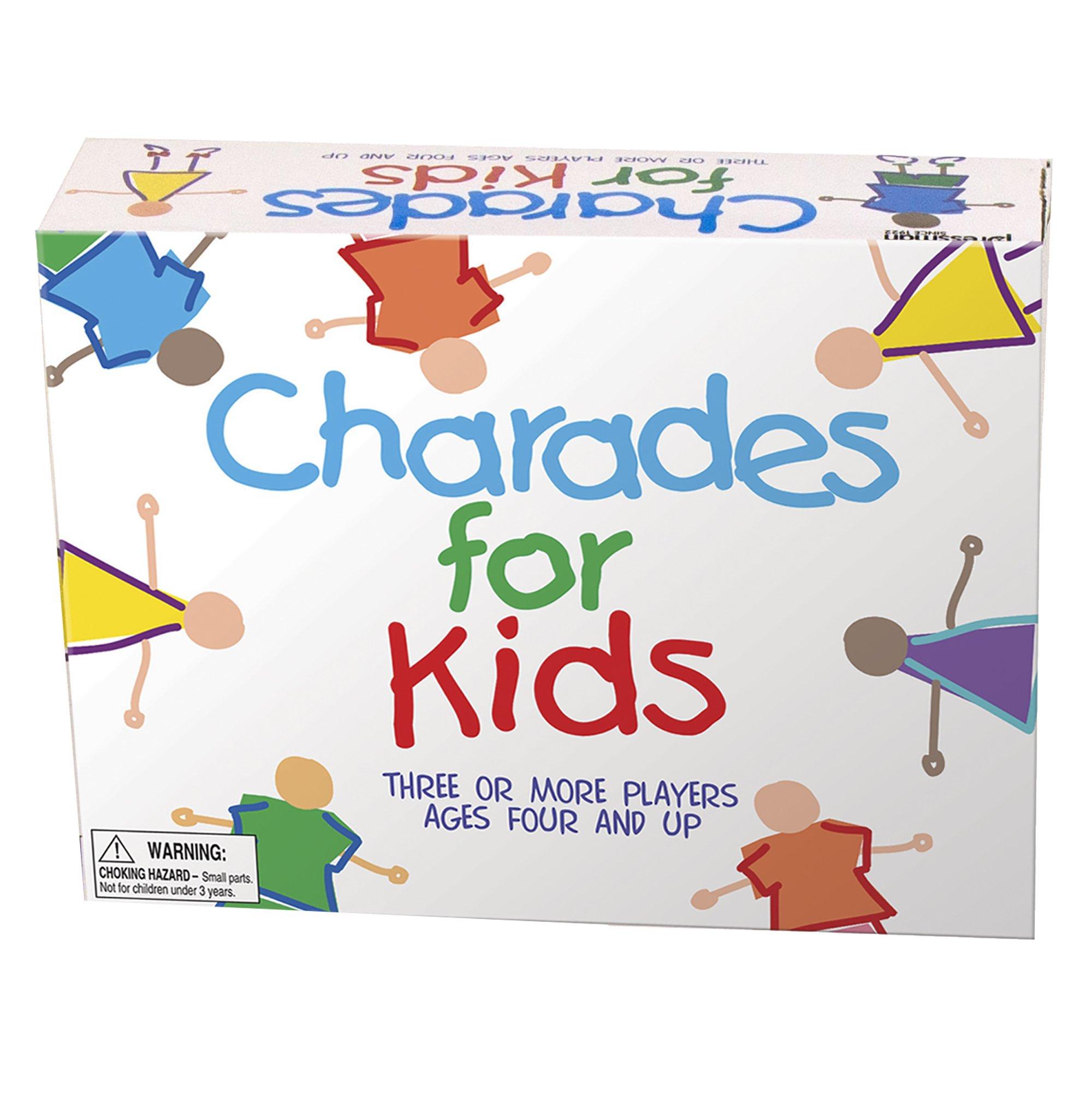 Pressman Charades for Kids