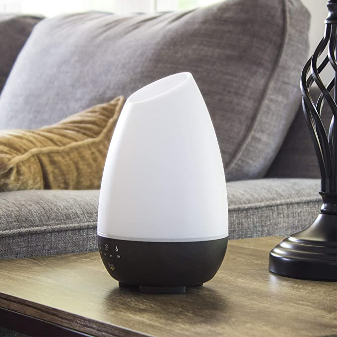 HealthSmart Aromatherapy Diffuser Cool Mist Humidifier Oil