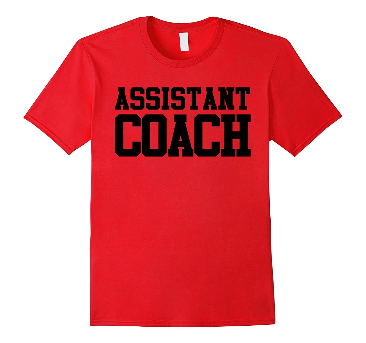 Coach Shirt Assistant TShirt Tee Coaching Football Team Gift-TD