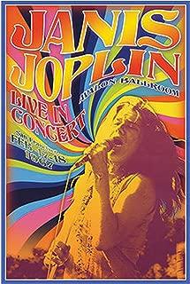 product image for Janis Joplin - Concert Poster (24x36) PSA009961
