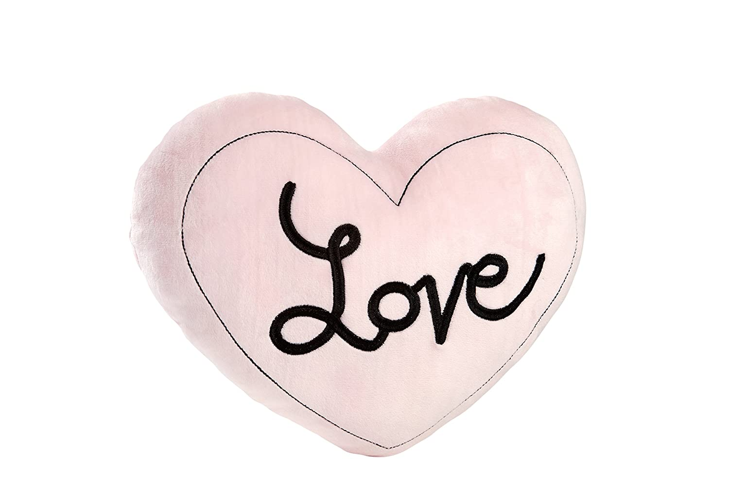 Little Love by NoJo Plush Love Pillow, Hugs and Kisses Crown Craft Infant Products 3585711