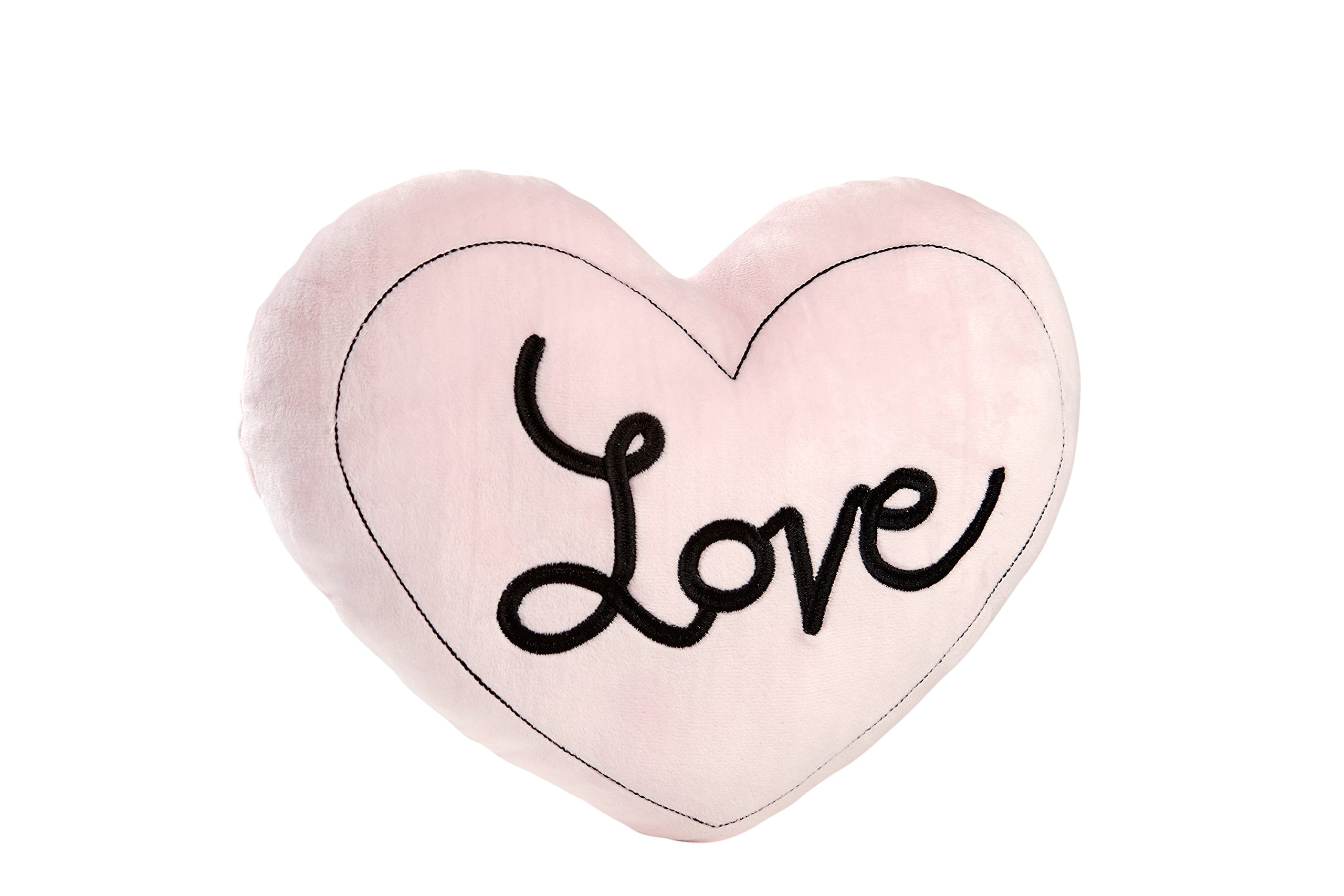 Little Love by NoJo Plush Love Pillow, Hugs and Kisses