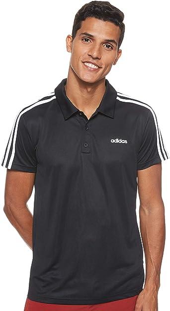 adidas M D2m Cla 3s Po Camiseta Polo Hombre: Amazon.es: Deportes y aire libre