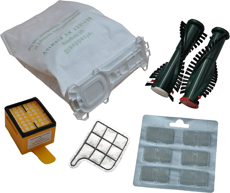 12 bolsas de tela para aspiradoras + filtro higiénico + filtro de ...