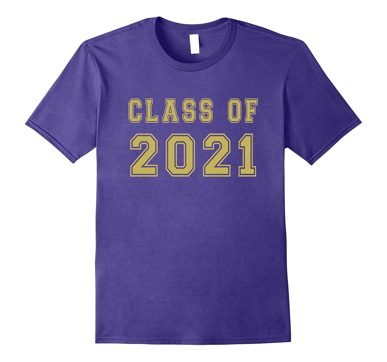 Class Of 2021 High School Graduation Date Cute Cool T-Shirt-TH