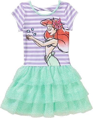 Disney Ariel la Sirenita tutú vestido Little Girls s (6 – 6 x ...
