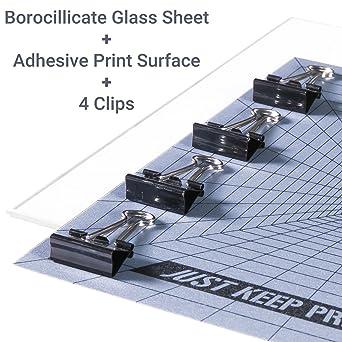 La superficie de impresión de la impresora 3D en el cuadrilátero ...