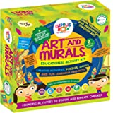 Genius Box Learning STEM Toy for 5+ Year Age: Art and Murals DIY,Activity Kit, Learning Kit, Educational Kit