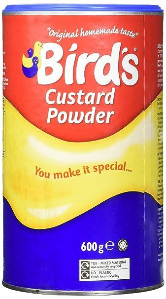 Amazon Birds Custard Powder 600g Canisters Pudding Mixes