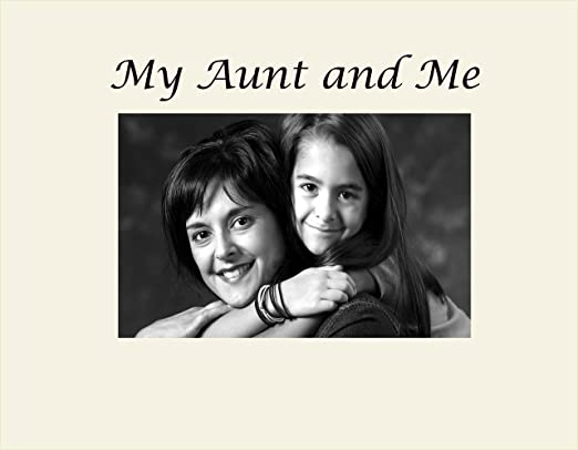 Small Engraved Photo Frame Infusion Gifts Aunt Black