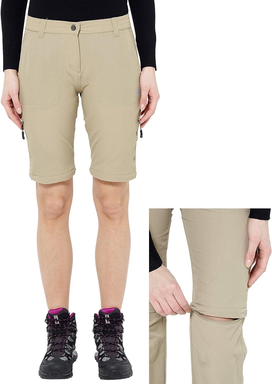 Ultrasport On Trail Pantalones de Trekking para Mujer