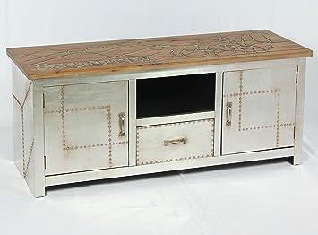 mueble bajo vintage con industrial aparador retro para tv tablero de