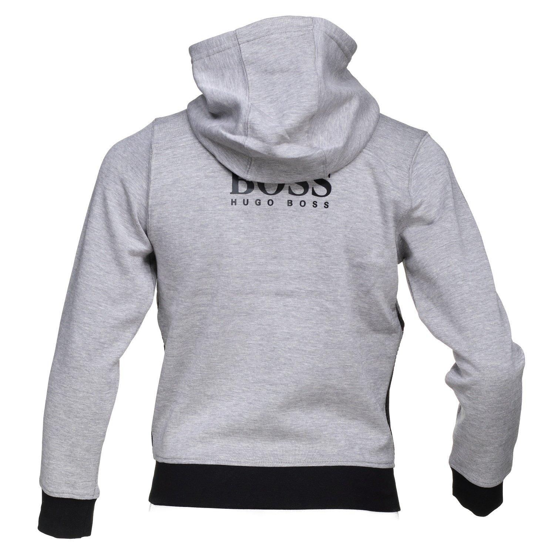 2093e5f5021 Hugo Boss - Gilet garçon J25c08 A89 Gris  Amazon.fr  Vêtements et  accessoires